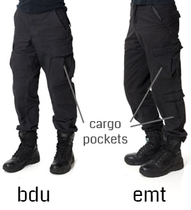 bdu pants vs emt pants