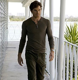 dexter wearing cargo pants