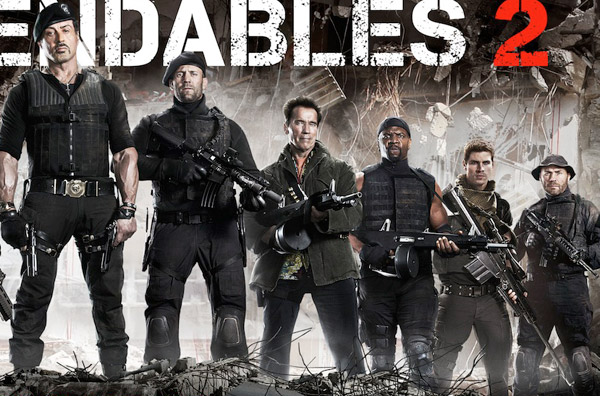 the expendables wearing bdu pants